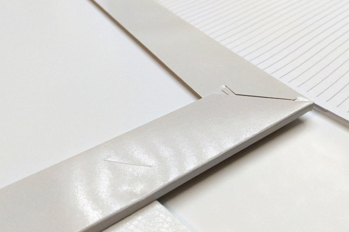Папки для деловых бумаг с элементами корпоративного стиля.